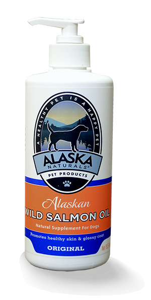 Wild Alaskan Salmon oil omega-3 supplement