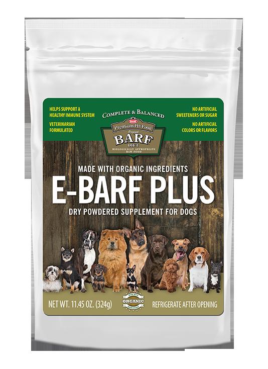 E-BARF Plus probiotic powder supplement