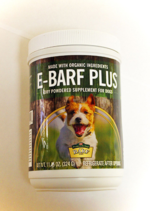 E-BARF Plus probiotic powder supplement