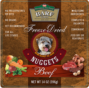 Freeze-Dried Beef Nuggets - 14oz