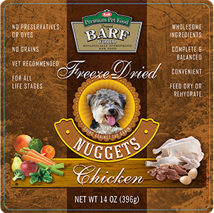 Freeze-Dried Chicken Nuggets - 14oz